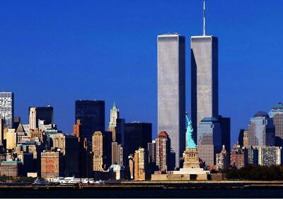 WORLD TRADE CENTER GLOSSY POSTER PICTURE BANNER 1 wtc twin towers new york 3266