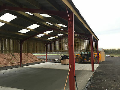 Steel Frame Building 20m by 40m by 4.6m ideal indoor school