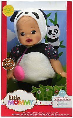Fisher Price Little Mommy Dress Up Cuties Panda Doll Dgw82 *new*