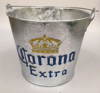 Corona Ice Bucket Bottle Opener Party Bar Gift Lager Beer Mexican Planter Tray