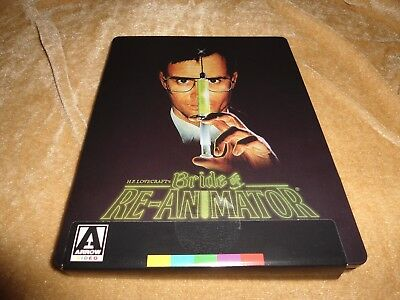 Bride Of Re-Animator (1989) (Limited Edition Steelbook) [1 Disc Blu-ray]