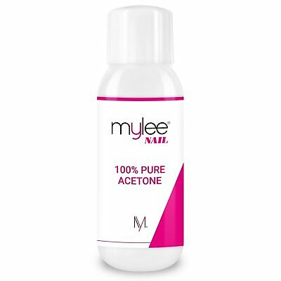 Mylee 100% Pure Acetone 300ml Superior Quality Nail Polish Remover UV/LED GEL
