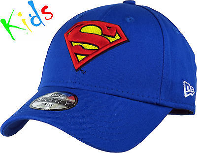 Superman New Era Kids 940 Hero Essential Adjustable Cap (Ages 0 - 10 years)
