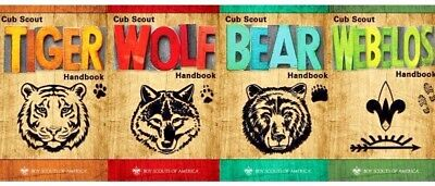 Cub Scout BSA Official Handbook New Current Edition Bear Wolf Tiger Webelos