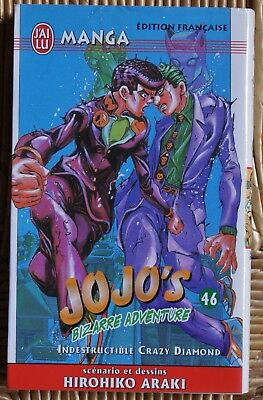 Jojo's Bizarre Adventure 46 Indestructible Crazy Diamond J'ai Lu Epuisé Rare