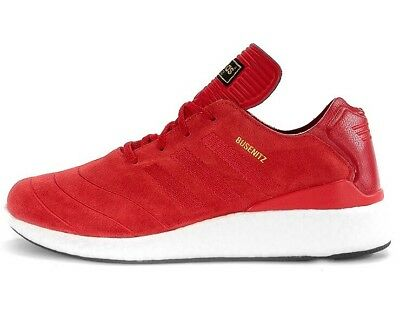 innovative design d3b0b ef7c0 Adidas Busenitz Pure Boost - Red  White  Gold - F37885 - Eu 42 2