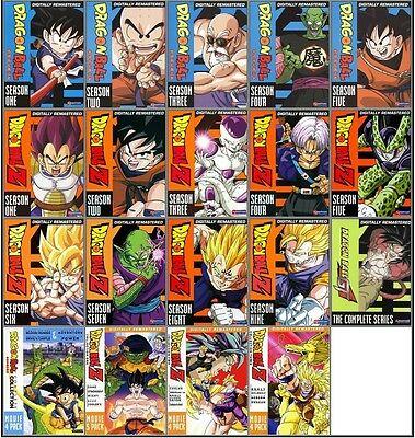 Dragonball Z + Gt The Complete Collection Seasons 1 2 3 4 5 6 7 8 & 9 + Movies