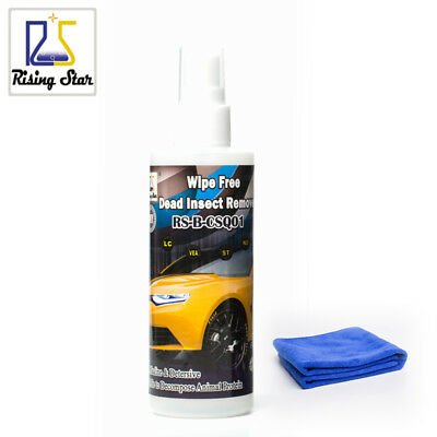Cars Bug Removal Splats Paint & Cleaner Wipe Free - Rising Star RS-B-CSQ01