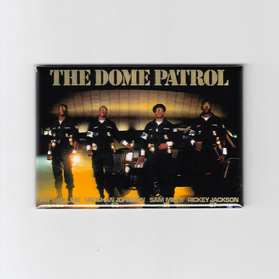 "NEW ORLEANS SAINTS / DOME PATROL - 2""x3"" POSTER FRIDGE MAGNET (nike costacos)"