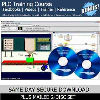 Allen Bradley PLC Programming Training With RSLogix SLC 500 Simulation Software