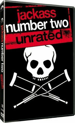 Jackass Number Two DVD Widescreen Unrated NEW Sealed BuyCheapDVD 3-Days Shipping