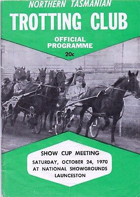 1970  NTTC  Trotting Race Book:  COX  PLATE  DAY/Fields  ....  (Abdul)