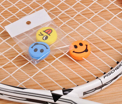 3/6 Tennis Vibration Shock Absorber Dampeners Wilson Emoticon Emotisorbs Emoji