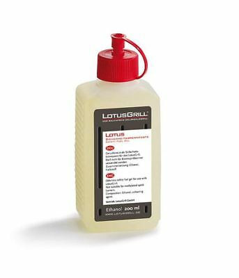 LotusGrill Ethanol Safety Fuel Gel 200ml - Charcoal BBQ Fire Starter