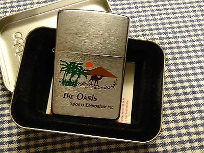 Zippo Camel The Oasis Sports Emporium Lighter 2000