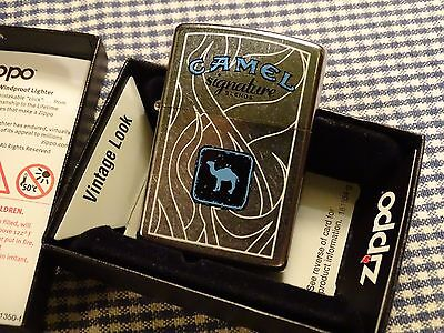 Zippo Camel Signature Blends Lighter 2007