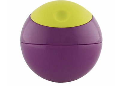 Boon Snack Ball- Baby Toddler Snack Food Storage Purple/Green