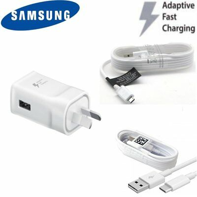 Genuine Samsung Adaptive Fast charge wall travel charger for Galaxy S6 S7 S8