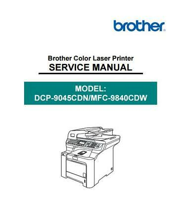 Brother 7360n service manual.