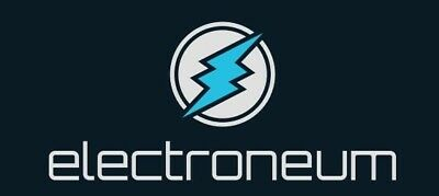 Electroneum ETN Cryptocurrency x 10 000