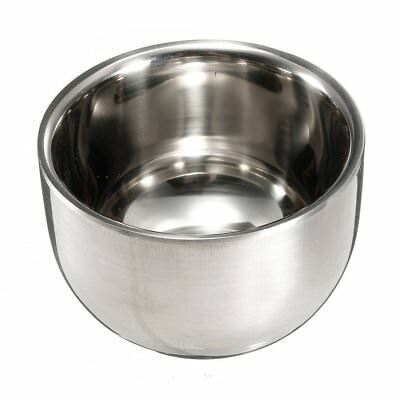 Stainless Steel Brush Shave Bowl Shave Razor O1O9