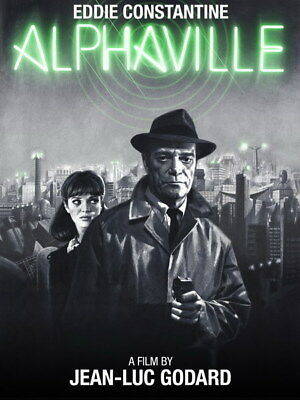 "001 Alphaville - Love Thriller 1965 USA Classic Movie 14""x18"" Poster"