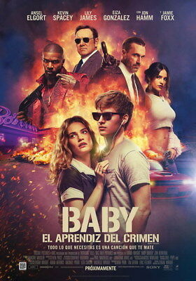 """005 Ansel Elgort - Baby Driver USA Movie Actor 14""""x20"""" Poster"""