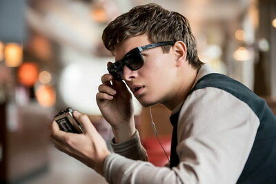 "006 Ansel Elgort - Baby Driver USA Movie Actor 21""x14"" Poster"