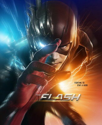 "091 The Flash - Justice League USA Hero Season 1 2 3 TV 24""x29"" Poster"