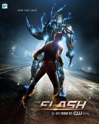"096 The Flash - Justice League USA Hero Season 1 2 3 TV 24""x30"" Poster"