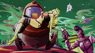 """013 Space Dandy - Adventure Funny Japan Anime 42""""x24"""" Poster"""