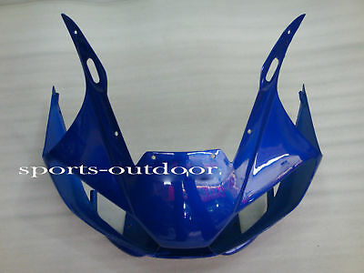 Front nose Blue Fairings For YAMAHA YZF R6 1998-2002 1999 2000 2001 Injection