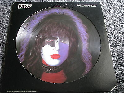 KISS- Paul Stanley 78er Solo Picture LP-Made in USA