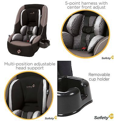 Safety 1st Guide Convertible Car Seat Chambers Rear Forward Facing Baby Toddler
