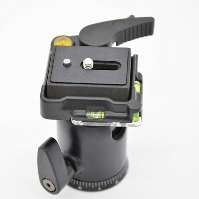 Heavy Duty Ball Head Quick Release Plate for Monopod Tripod Camera Canon Nikon