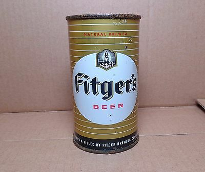 FITGER'S Flat Top Beer Can