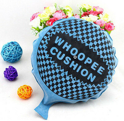 Self Inflating Whoopee-Cushion Joke Prank Party Toy Fart Whoopie Balloon GagUK N