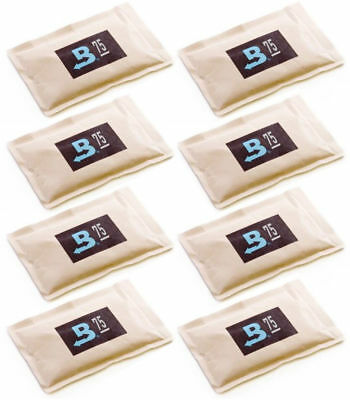 75% Boveda 60 Gram 2-Way Humidity Control Humidipak Humidifier 8 Packets 1481-8
