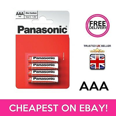 Panasonic Ultra Power Zinc Carbon Aaa Batteries Battery - 4 Pack