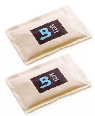 75% Boveda 60 Gram 2-Way Humidity Control Humidipak Humidifier 2 Packets 1481-2