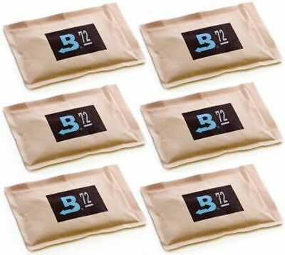 72% Boveda 60 Gram 2-Way Humidity Control Humidipak Humidifier 6 Packets 1481-6