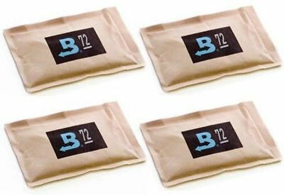 72% Boveda 60 Gram 2-Way Humidity Control Humidipak Humidifier 4 Packets 1481-4