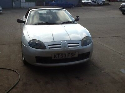 Mgf Tf 1.6 2004 Convertible Runs & Drives Well 89K Tatty Body Spares Or Repair