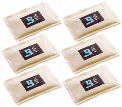 65% Boveda 60 Gram 2-Way Humidity Control Humidipak Humidifier 6 Packets 1481-6