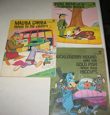 yogi bear & the colorado river,huckleberry hound,Magilla Gorilla books 1972