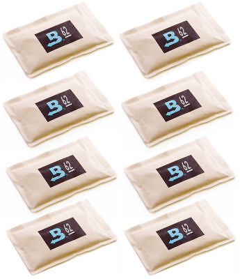 62% Boveda 60 Gram 2-Way Humidity Control Humidipak Humidifier 8 Packets 1481-8
