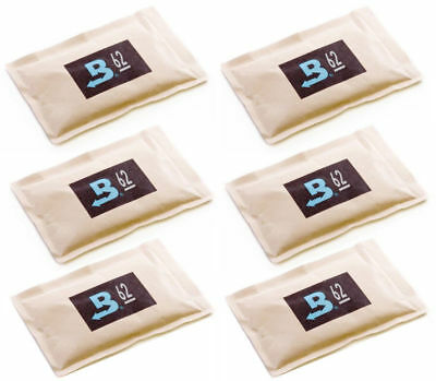 62% Boveda 60 Gram 2-Way Humidity Control Humidipak Humidifier 6 Packets 1481-6