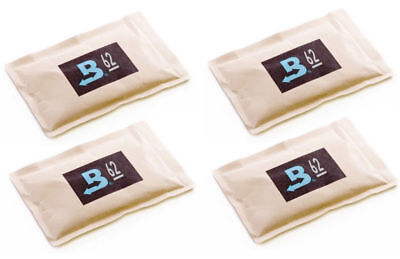 62% Boveda 60 Gram 2-Way Humidity Control Humidipak Humidifier 4 Packets 1481-4