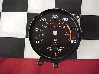 83, 84, 85, 86 Chevy Monte Carlo Clock with Tach Face