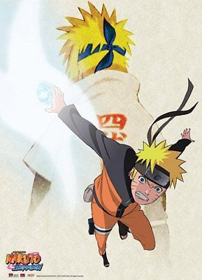 Great Eastern Entertainment Naruto Shippuden Father and Son Wall Scroll, 33 by